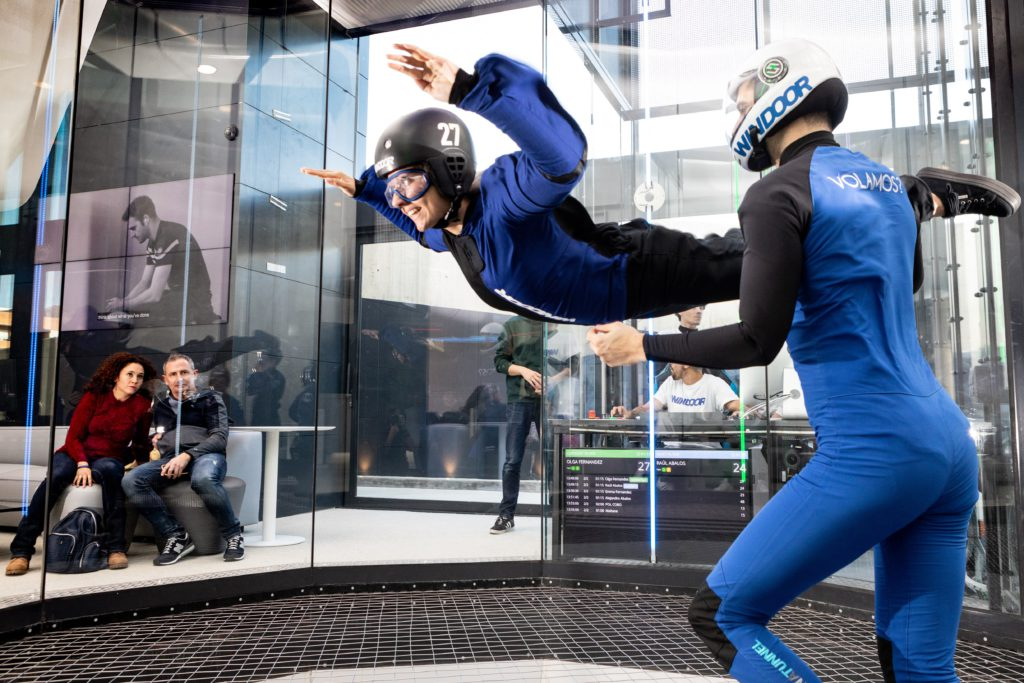 Fly with xirli wind tunnel 1