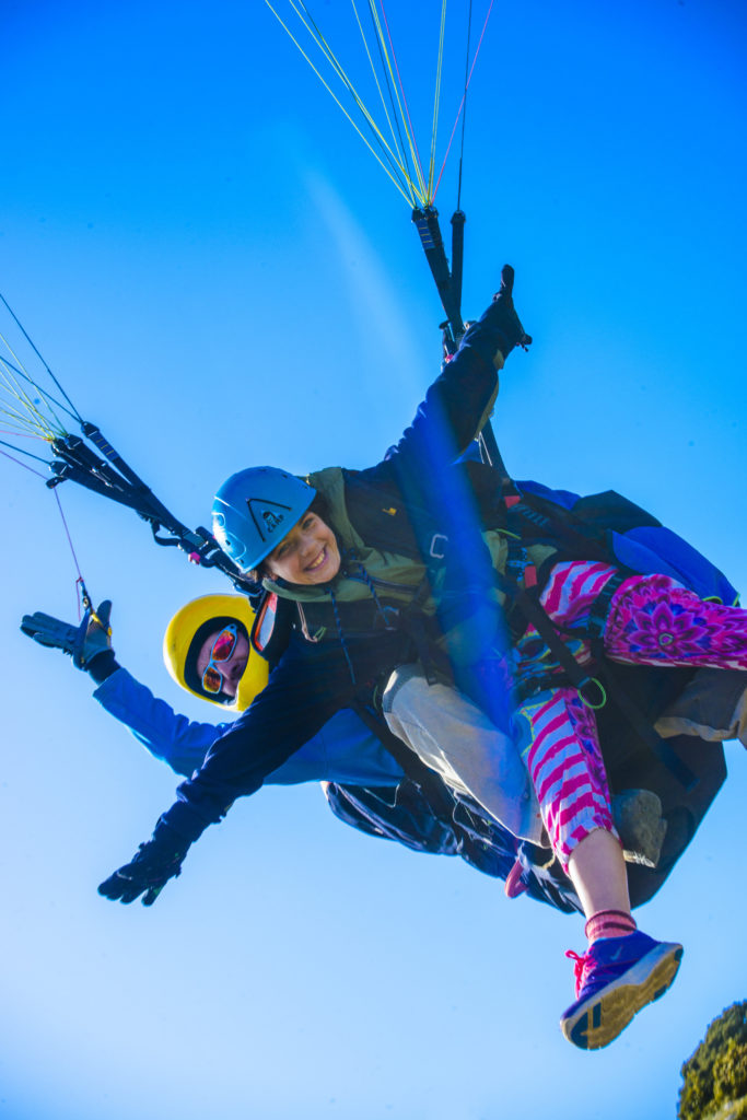 fly with xirli paraglding tandem