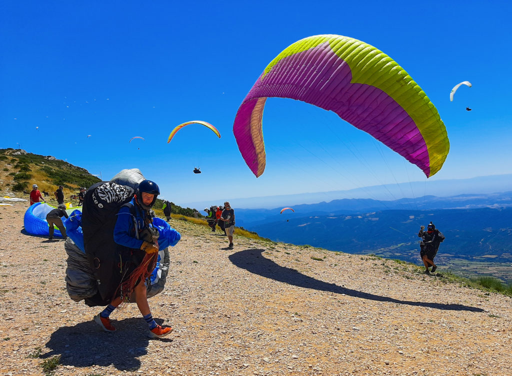 Fly with Xirli paraglding guiding pilots 6