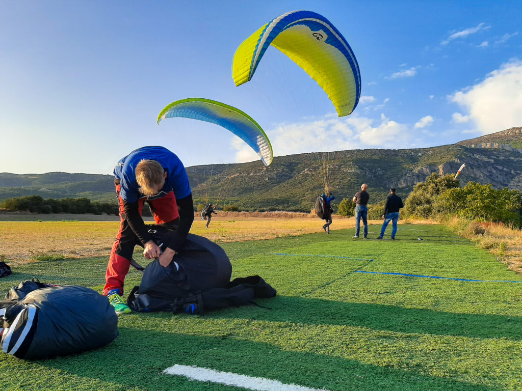 ager 23 fly with xirli paragliding barcelonai