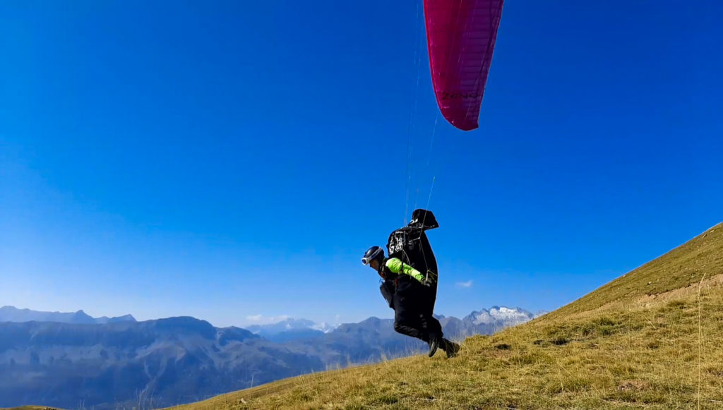 castejon 8 fly with xirli paragliding barcelona