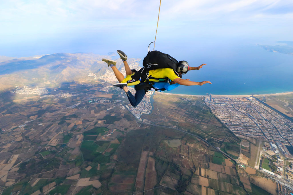 Fly with xirli skydiving tandem 1