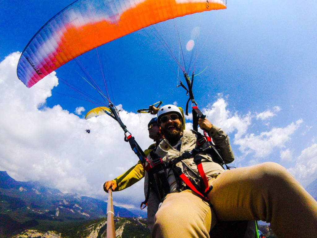 Fly with xirli paragliding tandem 1