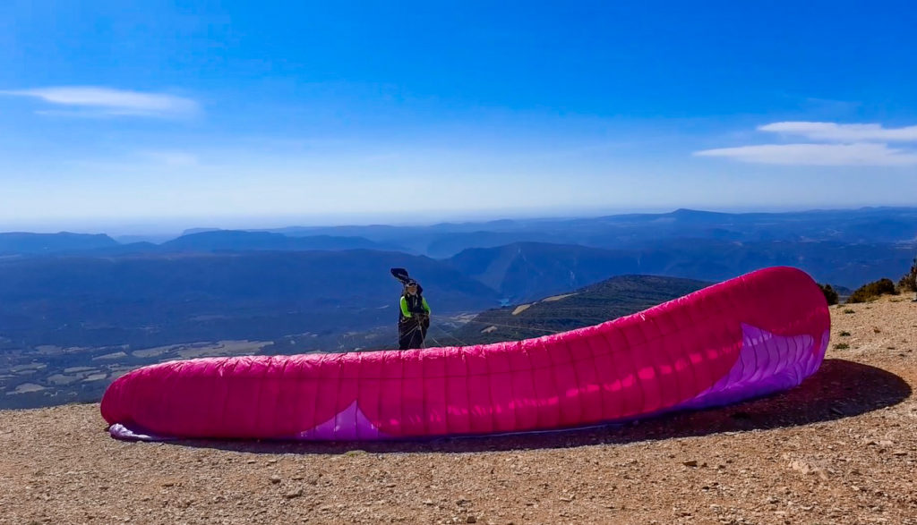ager 2 fly with xirli paragliding barcelona