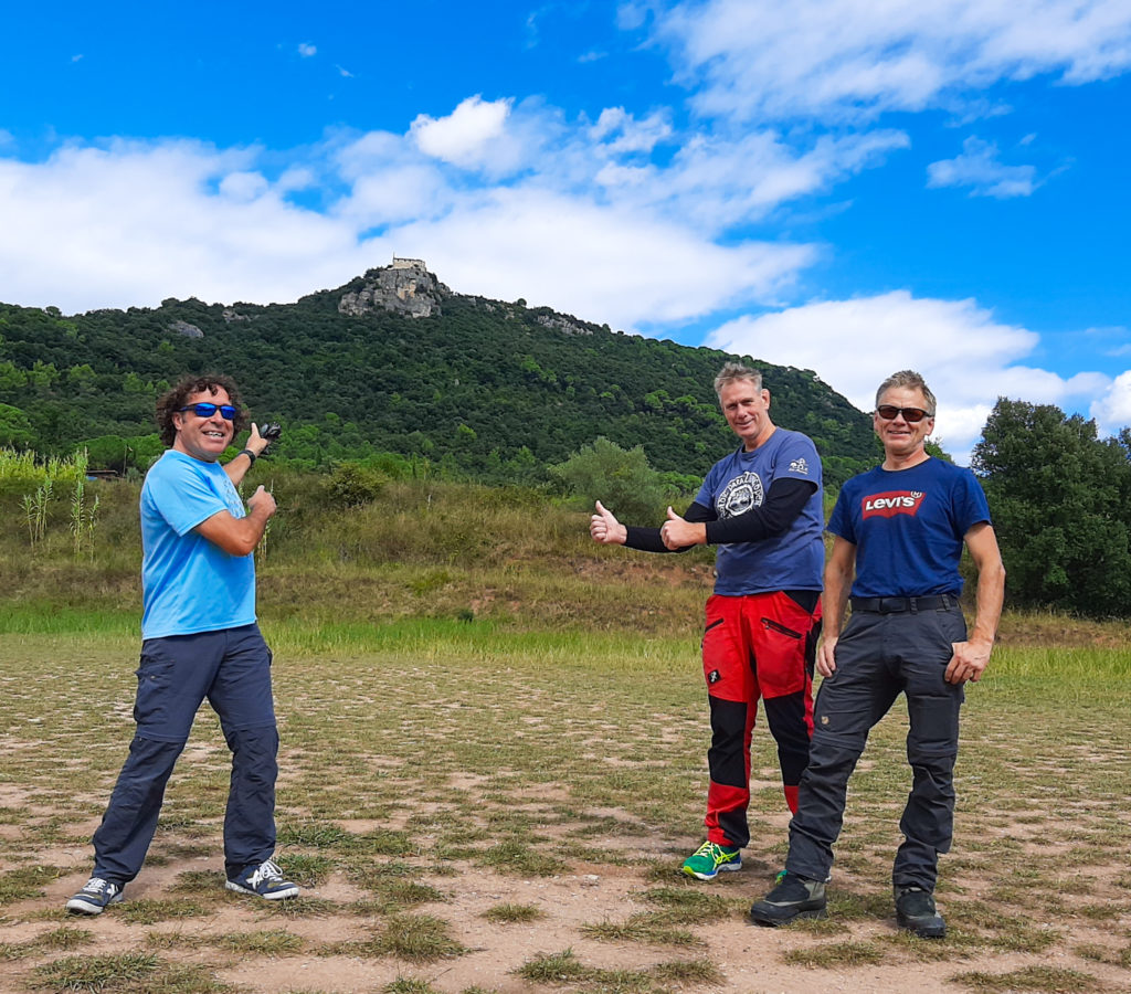 amer 4 fly with xirli paragliding barcelona
