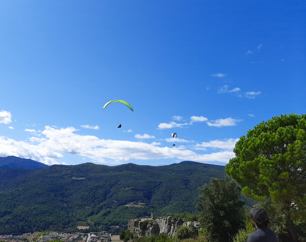 amer 7 fly with xirli paragliding barcelona