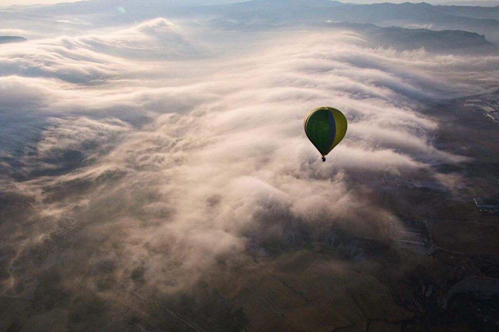 fly with xirli adapted ballooning