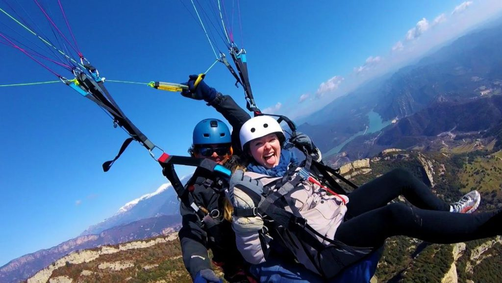 Fly with Xirli parlagliding tandem 15