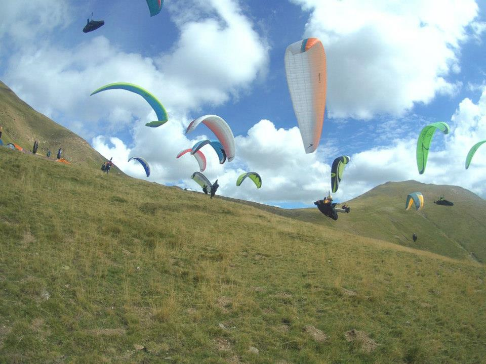 Fly with Xirli and Tandemteam escuela 10