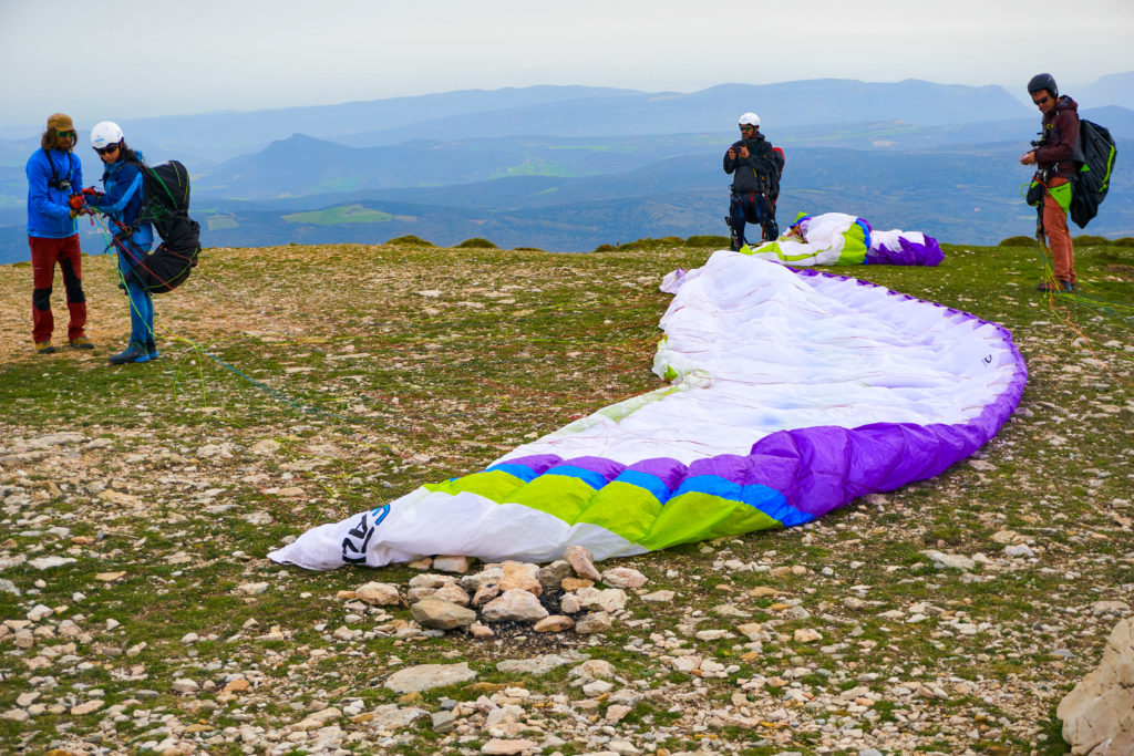 Fly with Xirli paragliding school advisor 1