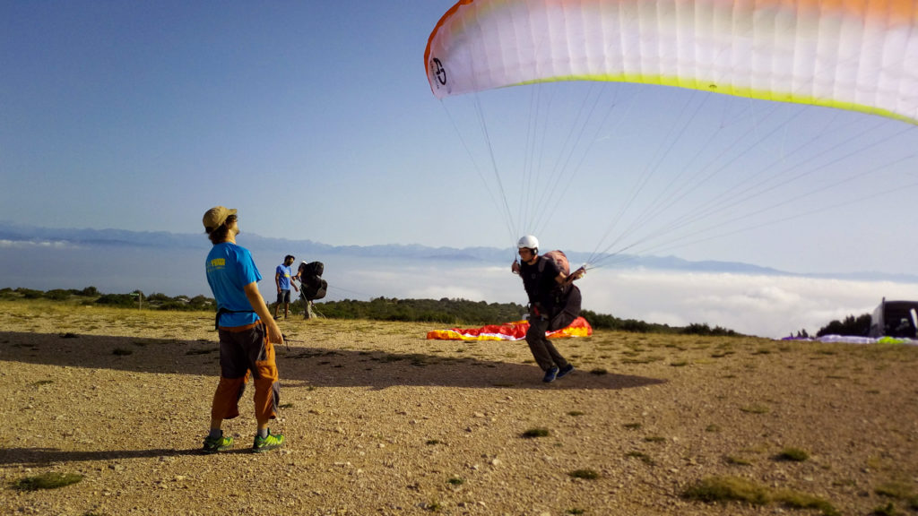 Fly with Xirli paragliding school advisor 3