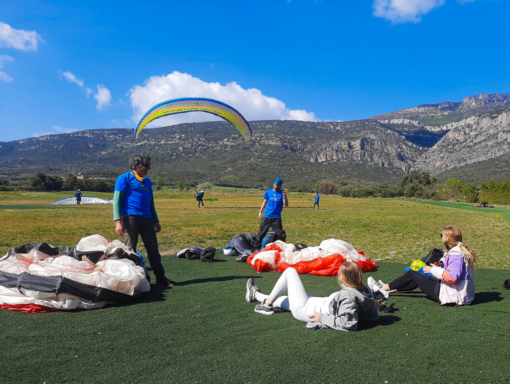 Fly with Xirli paragliding tandem 27
