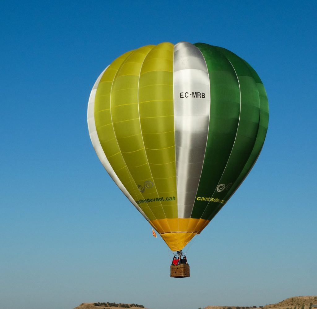 fly with xirli ballooning