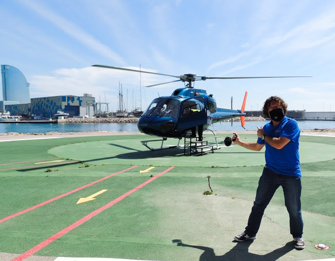 Fly with Xirli helicopter