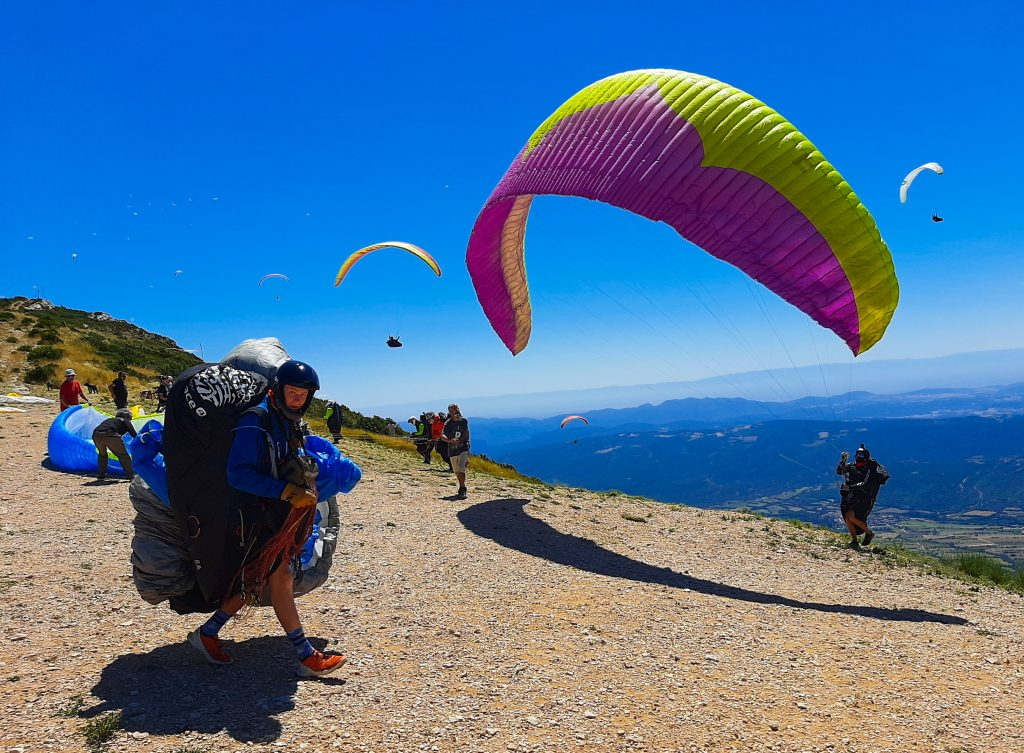 Fly with Xirli paragliding