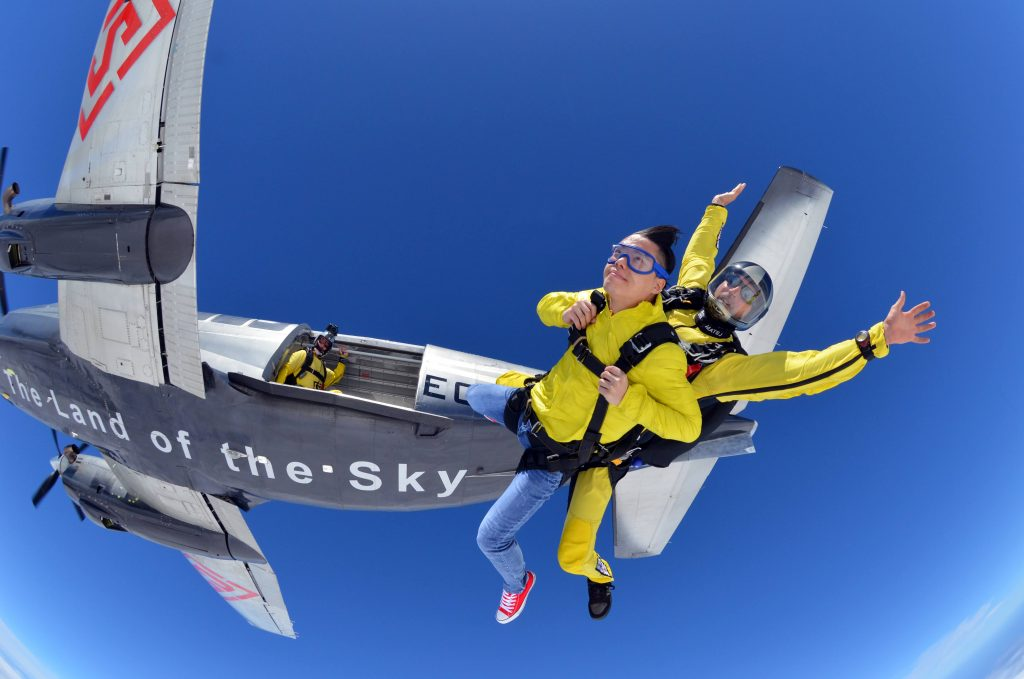 Fly with Xirli skydive