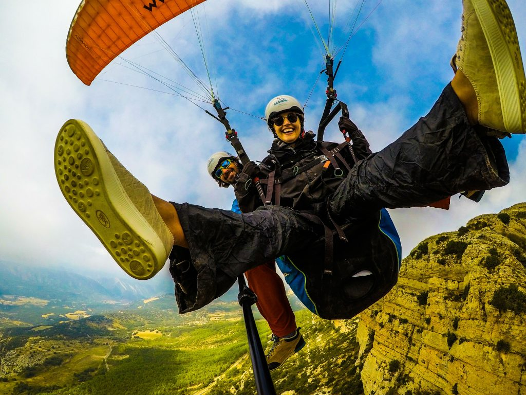 Fly with Xirli paragliding tandem