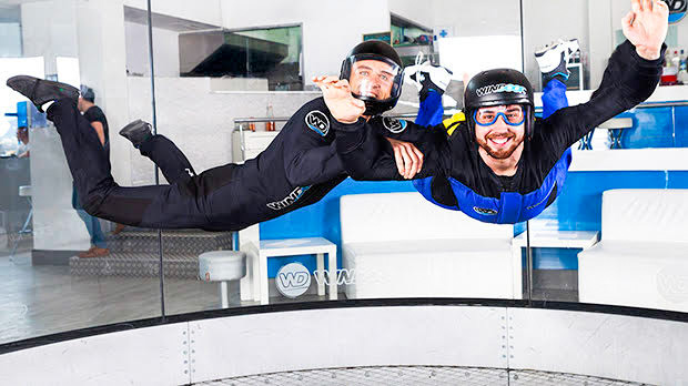 fly with xirli wind tunnel